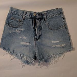 Vintage inspired Jean shorts